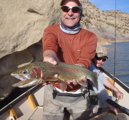 San Juan River Drift Boat Fishing